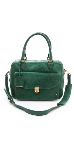 Tory Burch Priscilla Haircalf Satchel at Shopbop / East Dane
