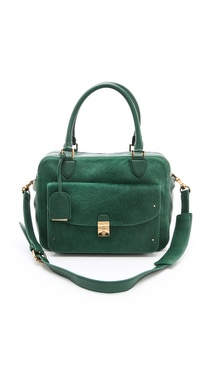 Tory Burch Priscilla Haircalf Satchel