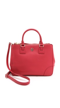 Tory Burch Robinson Double Zip Satchel