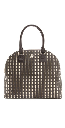 Tory Burch Robinson Printed Dome Satchel at Shopbop / East Dane