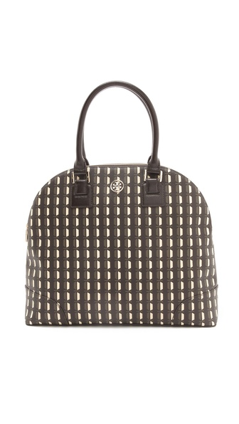 Tory Burch Robinson Printed Dome Satchel