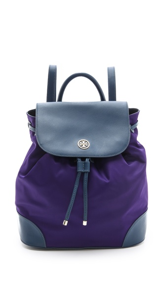 Tory Burch Robinson Nylon Backpack