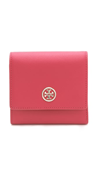 Tory Burch Robinson French Trifold Wallet