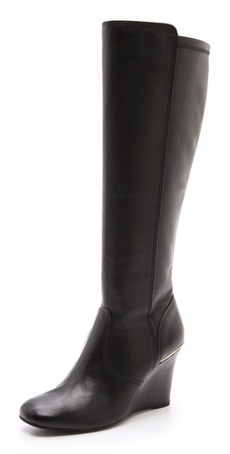 Tory Burch Hendin Wedge Boots at Shopbop / East Dane