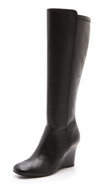 Tory Burch Hendin Wedge Boots