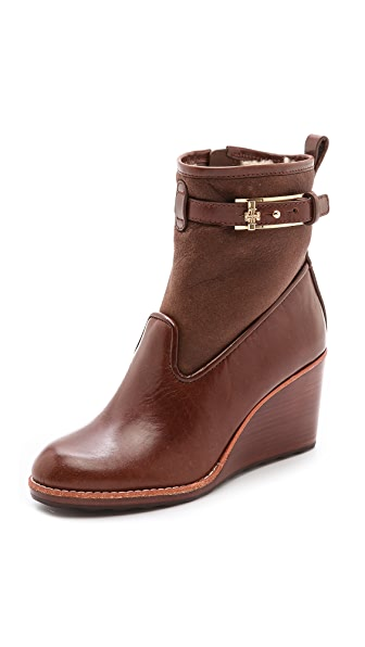 Tory Burch Primrose Wedge Booties