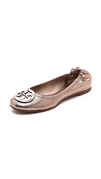 Tory Burch Reva Metallic Flats