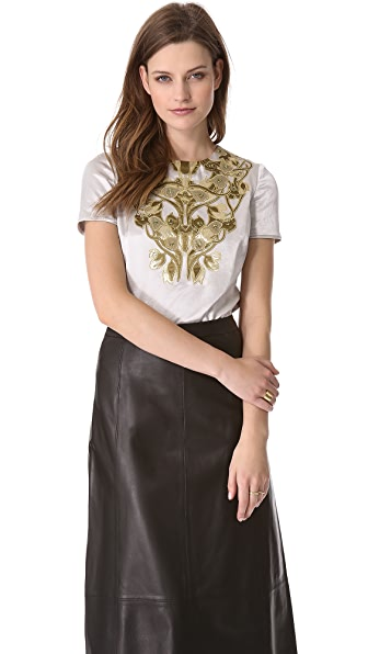 Tory Burch Tia Embellished Top