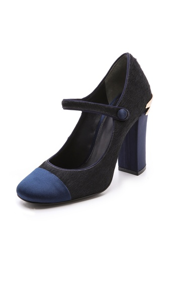 Tory Burch Imogene Mary Jane Haircalf Pumps