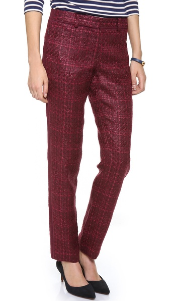 Tory Burch Drew Tweed Pants