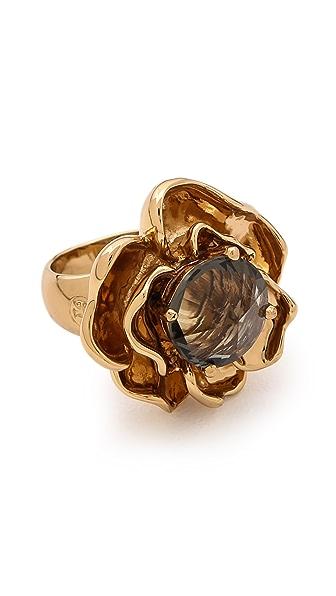Tory Burch Crystal Rose Ring
