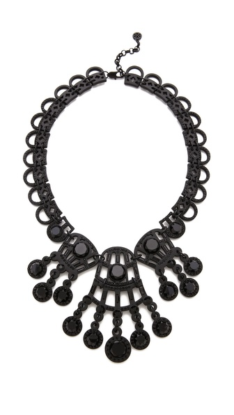 Tory Burch Embellished Lace Necklace