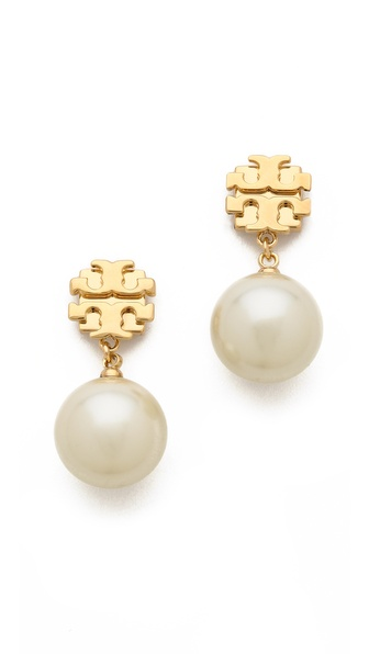 Tory Burch Evie Drop Earrings