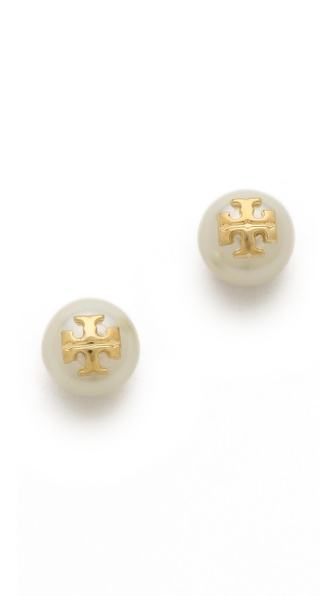 Tory Burch Evie Stud Earrings