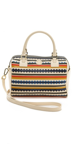 Tory Burch Robinson Zigzag Middy Satchel at Shopbop / East Dane