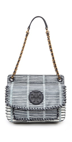 Tory Burch Marion Patchwork Small Shoulder Bag at Shopbop / East Dane