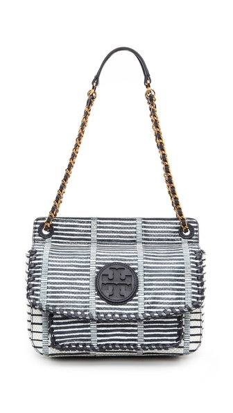 Tory Burch Marion Patchwork Small Shoulder Bag