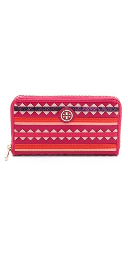 Tory Burch Robinson Zigzag Continental Wallet at Shopbop / East Dane