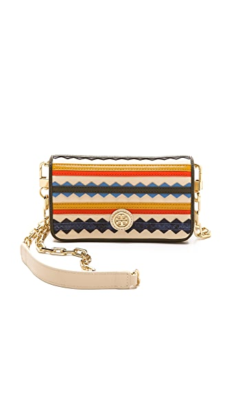 Tory Burch Robinson Zigzag Cross Body Bag