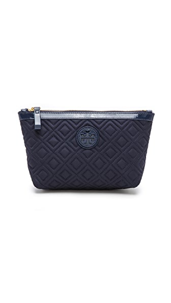 Tory Burch Ariana Small Slouchy Cosmetic Pouch