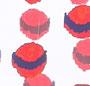 Tiger Lily Parkeet Dot