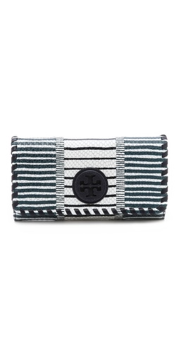 Tory Burch Marion Patchwork Envelope Continental Wallet at Shopbop / East Dane