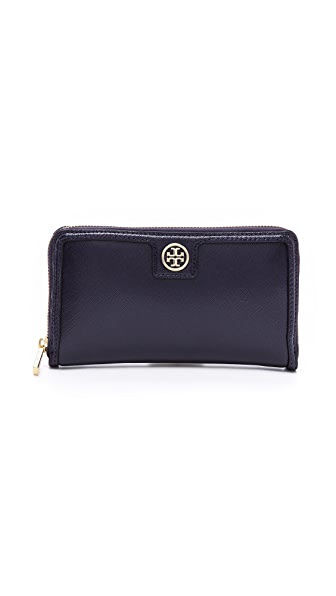 Tory Burch Vintage Buckle Zip Continental