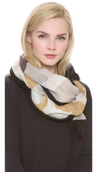 Tory Burch Reva Colorblock Scarf