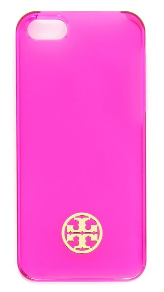Tory Burch Clear Resin Hardshell iPhone 5 / 5S Case