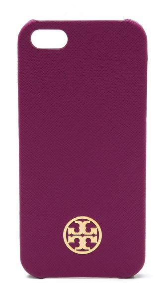 Tory Burch Robinson Leather Hardshell iPhone 5 / 5S Case