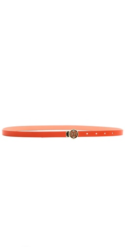 Tory Burch Mini Rotating Logo Belt at Shopbop / East Dane