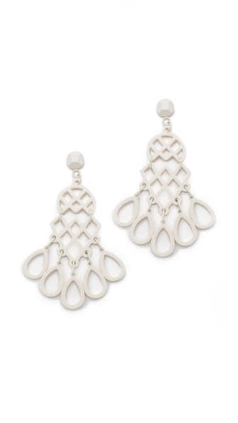 Tory Burch Lace Chandelier Earrings