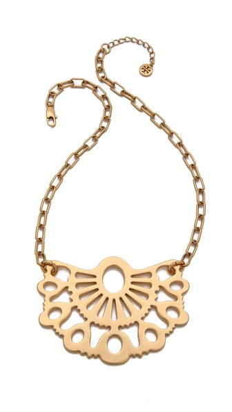 Tory Burch Madura Pendant Necklace