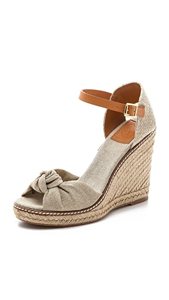 Tory Burch Macy High Wedge Espadrilles
