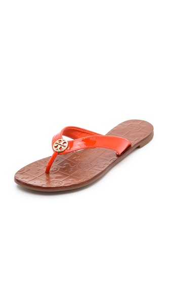 Tory Burch Thora 2 Thong Sandals - Tiger Lily