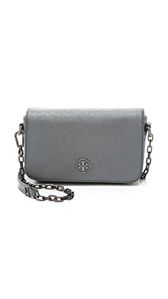 Tory Burch Robinson Hologram Adjustable Chain Bag