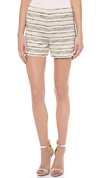 Tory Burch Nicole Tweed Shorts