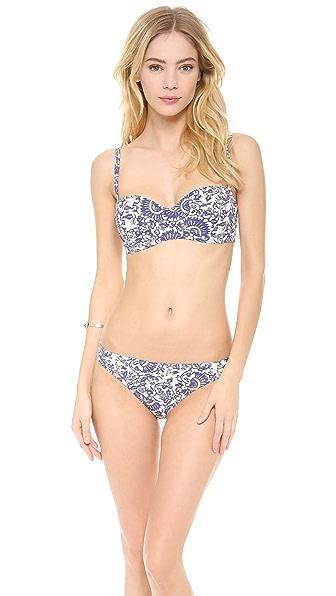 Tory Burch Madura Underwire Bikini Top