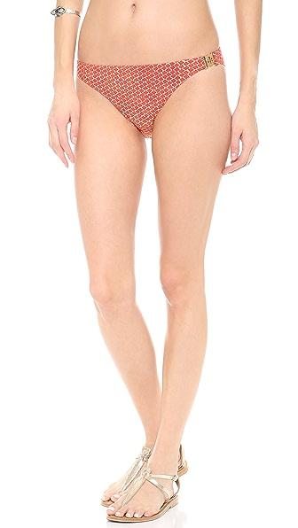 Tory Burch Savu Logo Bikini Bottoms