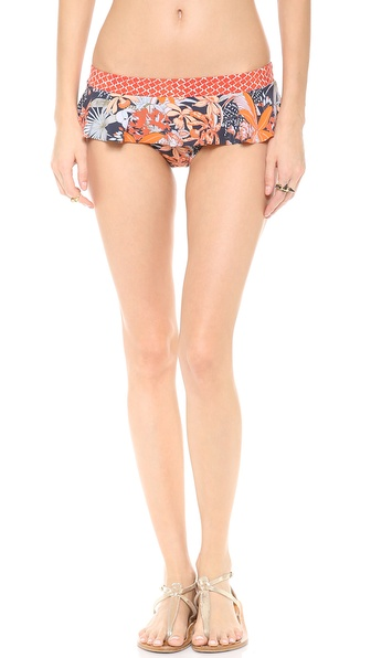 Tory Burch Calathea Skirted Bikini Bottoms