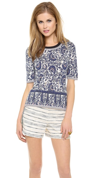 Tory Burch Fallon Sweater
