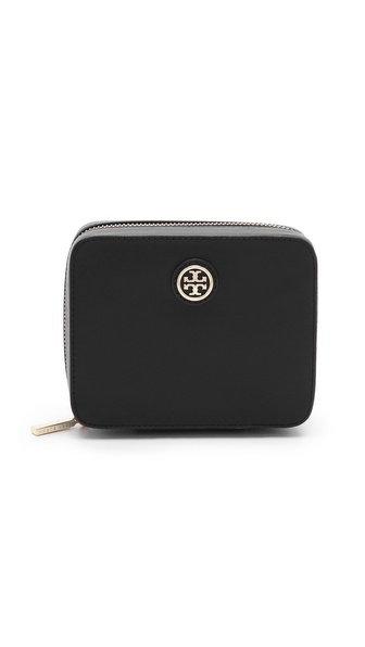 Tory Burch Robinson Zip Jewelry Case