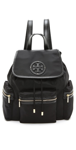 Tory Burch Stacked T Logo Backpack at Shopbop / East Dane