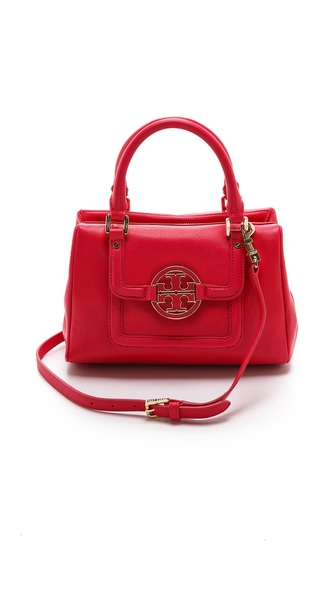Tory Burch Amanda Mini Slouchy Satchel - New Carnival