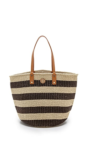 Tory Burch Tyler Straw Tote