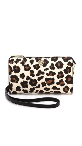 Tory Burch Robinson Printed Cross Body Bag