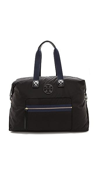 Tory Burch Soft Nylon Weekender Bag