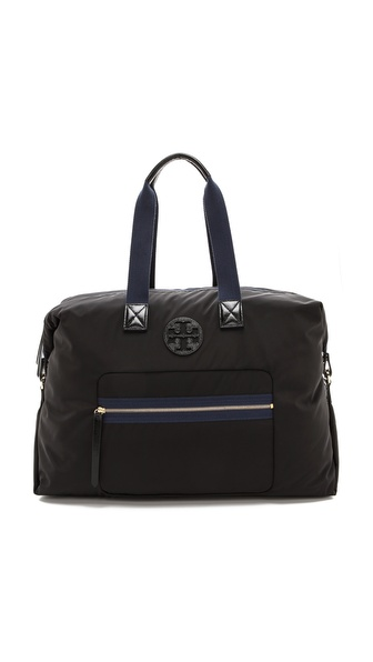 Tory Burch Soft Nylon Weekender Bag