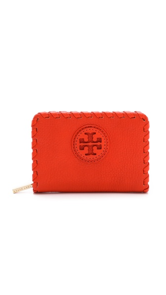 Tory Burch Marion Tall Hidden Zip Coin Case
