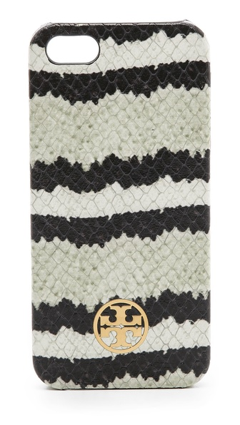 Sale alerts for Tory Burch Stripe Snake iPhone 5 / 5S Case - Covvet